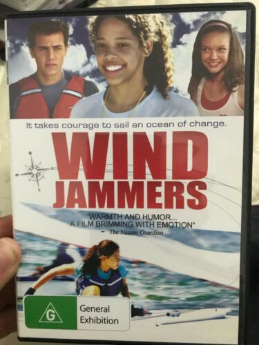 Wind Jammers region 4 DVD (2011 sailing family movie)