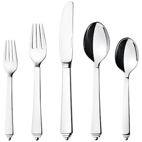 Pyramid by Georg Jensen Stainless Steel Flatware 5 Piece Place Setting New