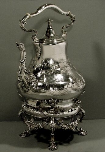 Tiffany Silver Tea Set       c1845 CHINESE -  $7200  -  $5200  -