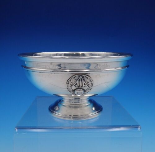 Continental by International Sterling Silver Candy Dish with ATA Insignia #3230