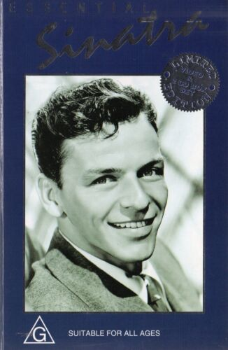 ESSENTIAL SINATRA - 2 x CD and VHS -PAL -NEW -Never played! -Original Oz release