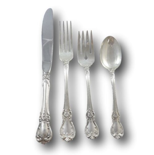 Old Master by Towle Sterling Silver Flatware Set For 6 Service 24 Pieces