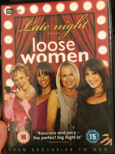Late Night With Loose Women region 2 DVD (British comedy talk show)