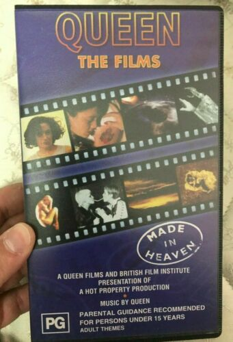 Queen (band) Made In Heaven - The Films VHS TAPE (music) rare