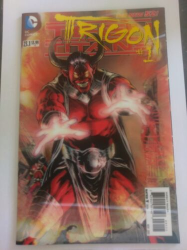 DC NEW 52 #23.1 TRIGON #1 3D NM