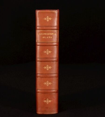 1929 The Plays of John GALSWORTHY