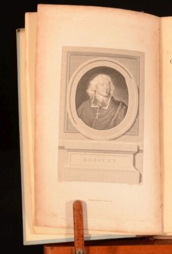1807 Oraisons Funebres Jacques Benigne Bossuet Funeral Orations Speeches French