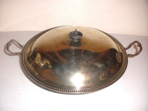 Antique Charles Wright London 1776 Sterling silver covered bowl George III