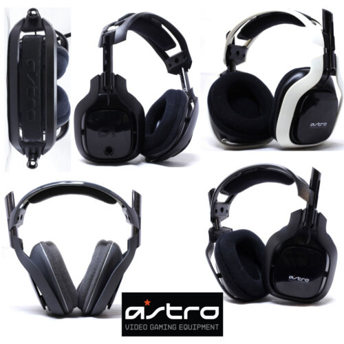 Astro A40 Gaming Headset for Ps3 Ps4 Xbox Windows and Mac Black Grey White Blue