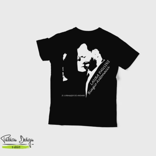 LEONE CANE FIFONE COURAGE THE COWARDLY DOG T-SHIRT LE CHIEN FROUSSARD TSHIRT