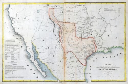 265 maps TEXAS state PANORAMIC genealogy old HISTORY teaching REPUBLIC atlas DVD