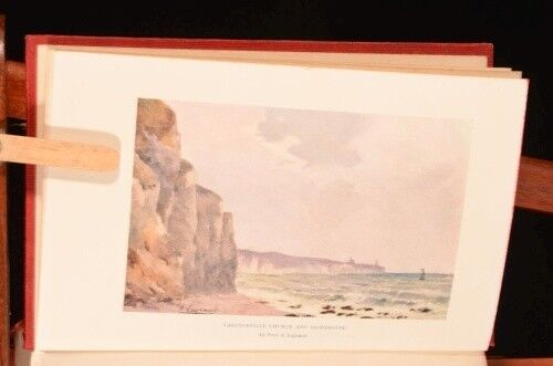 1911 The Normandy Coast Charles Merk Illustrated First Edition