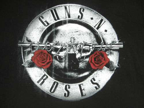 GUNS N' ROSES Not In This Lifetime 2017 EUROPE OFFICIAL TOUR T-SHIRT Doublesided