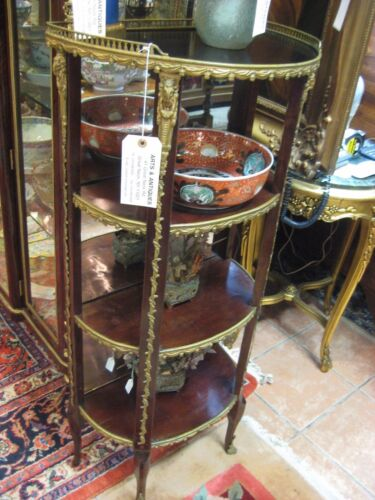 Beautiful Three Tier Etagere, Louis XVI Style