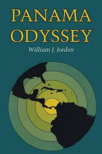 Panama Odyssey by William J. Jorden (English) Paperback Book Free Shipping!