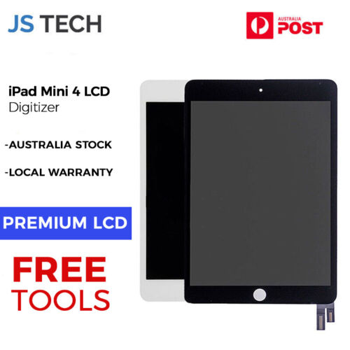 New LCD Digitizer for iPad Mini 4 Assembly Touch screen with Sleep Wake Chip