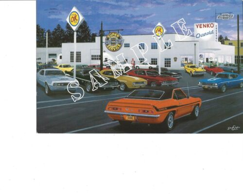 David Snyder Car Art -- 575 West Pike  AP 52 of 95 - Large Collection Avail