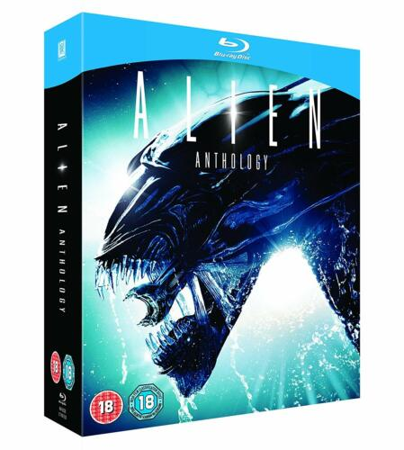 "ALIEN ANTHOLOGY 1-4 MOVIE COLLECTION BOX SET 4 DISCS BLU-RAY RB ""NEW&SEALED"""