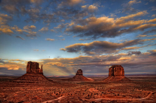 Monument Valley AZ 24x36 Photo picture canvas art sunset desert