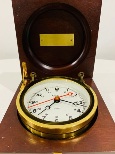 Chelsea Ship's Elegant & Beautiful Antique Clock must add for collection