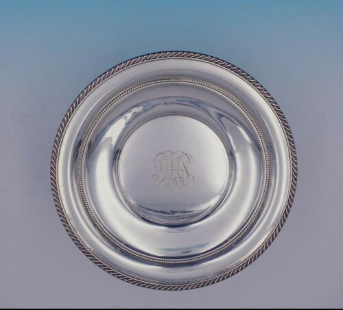 English Gadroon by Gorham Sterling Silver Serving Plate Round #414 (#3355)