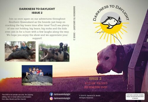 Darkness to Daylight Issue 2 Pig Hunting DVD