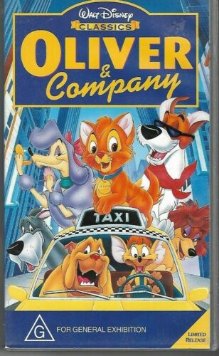 OLIVER AND COMPANY :  (Children's Pal Vhs Video)  Walt Disney  (near new)