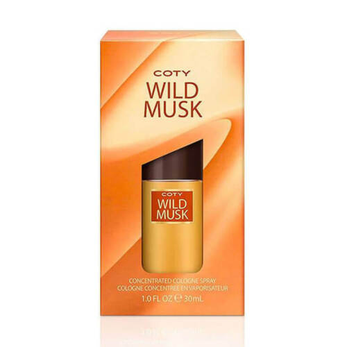 Coty Wild Musk Concentrated 30ml EDC (L) SP Womens 100% Genuine (New)