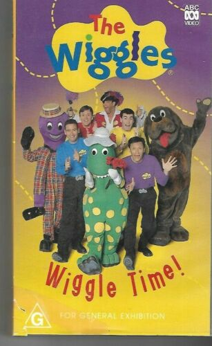 THE WIGGLES  : Wiggle Time !   (Vhs Video Tape)