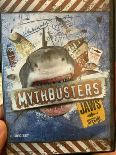 Mythbusters - Jaws Special region 4 DVD (TV series) * rare *
