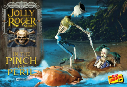 LINDBERG R2LIN0HL612 1:12 Jolly Roger Series: In The Pinch