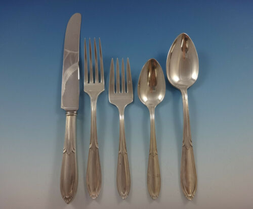Rhapsody Old by International Sterling Silver Flatware 8 Service Set 46 Pieces