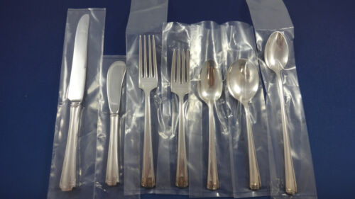 John & Priscilla by Westmorland Sterling Silver Flatware Service 8 Set 63 Pieces