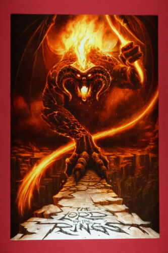 Lord of the Rings Morgoth Monster Dark Lord Movie Poster 24X36 New   MORG