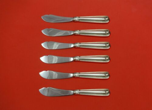 Benjamin Ben Franklin by Towle Sterling Silver Trout Knife Set 6pc HHWS Custom