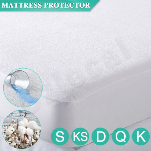 All Size Fully Fitted Terry Cotton Waterproof Mattress Protector Bed Soft Cover <br/> Waterproof ✓✓ SPECIAL PRICE FOR FIRST 100 BUYERS✓✓
