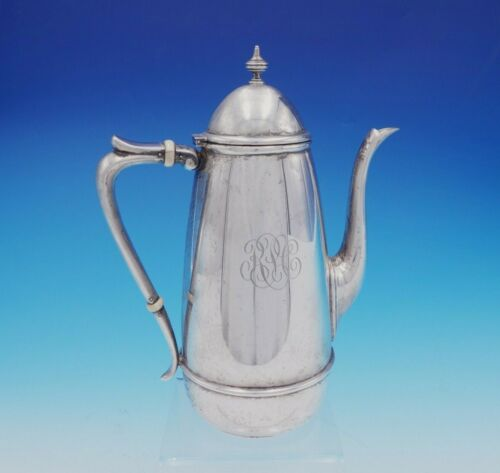"Winthrop by Richard Dimes Sterling Silver Coffee Pot 8 3/4"" Tall #262 (#3393)"