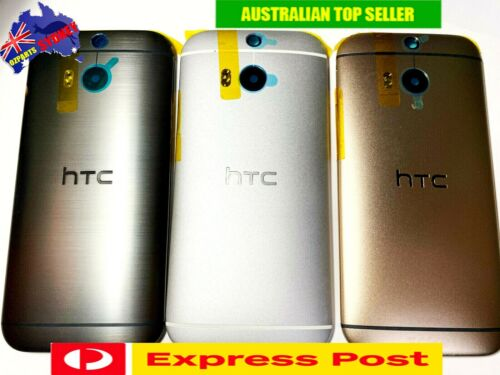 HTC One M9 BACK REAR COVER DOOR HOUSING ORIGINAL QUALITY Black White Gold Silver