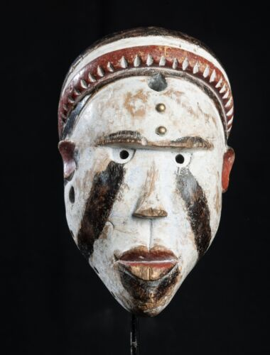 Bakongo Passport Mask, D.R. Congo, African Tribal Art