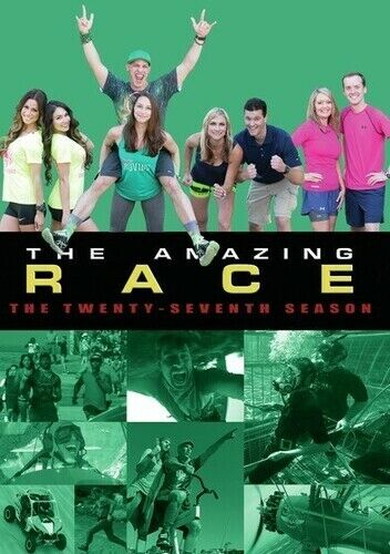 Amazing Race: Season 27 - 3 DISC SET (REGION 1 DVD New)
