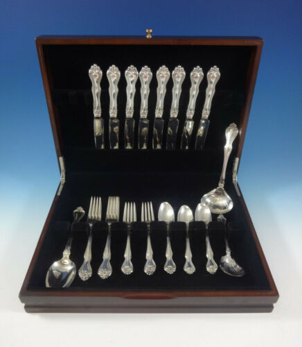 George and Martha by Westmorland Sterling Silver Flatware Set Service 35 Pieces