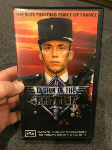 Legion Of The Damned VHS TAPE (war movie)