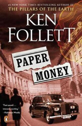 Paper Money by Ken Follett (English) Paperback Book Free Shipping!
