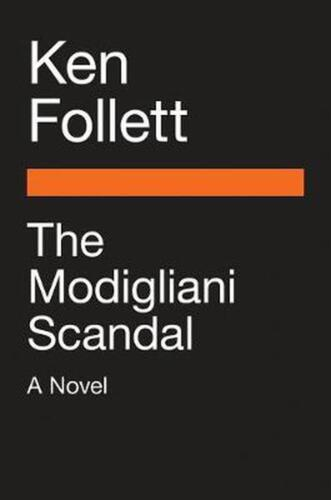 The Modigliani Scandal by Ken Follett (English) Paperback Book Free Shipping!
