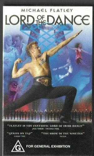 LORD OF THE DANCE   (Pal Vhs Video)  near new