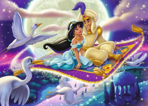 Disney Aladdin Moments Puzzle, 1000 Piece - Ravensburger Free Shipping!