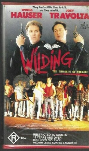WILDING  (Clamshell Pal Vhs Video)  ex rental - rare - 1990  (Wings Hauser)