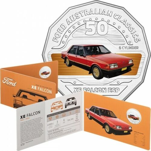 2017 Uncirculated 50c Ford Classic - Falcon XE