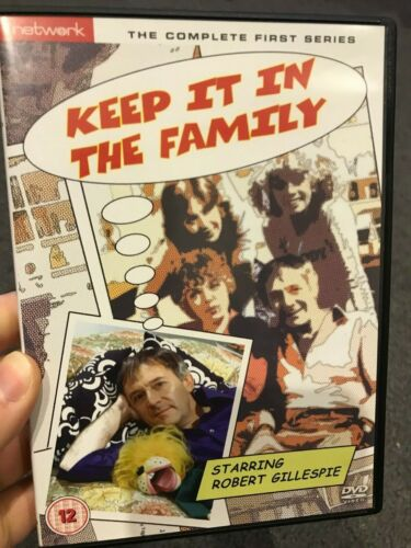 Keep It In The Family Season 1 region 2 DVD (British comedy TV series)