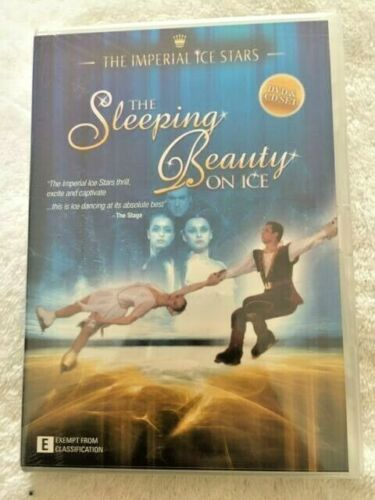 SLEEPING BEAUTY ON ICE - IMPERIAL ICE STARS - SPECIAL EDITION DVD & CD NEW R4
